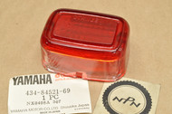 NOS Yamaha IT250 IT400 MX100 MX175 TT250 TT500 TY250 TY350 WR200 Rear Taillight Lens Cover 434-84521-69