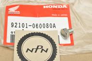 NOS Honda CA72 CA77 CB1000 CB1100 CB750 CT70 CT90 CX650 FL250 GB500 SL350 XR350 XR650 Bolt 92101-06008-0A