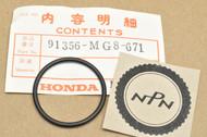 NOS Honda 1985-86 VF1000 R VT1100 C Fork Spring Collar O-Ring 91356-MG8-671