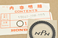 NOS Honda CA160 CA175 CB350 CB360 CJ360 CL350 CL360 SL175 SL350 Oil Guide Stopper Ring 15597-286-000