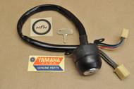 NOS Yamaha 1973-75 RD60 Ignition Switch & Key 388-82508-20