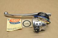 NOS Yamaha 1965-66 YDS3 YM1 Left Handlebar Hi Lo Light Horn Switch & Lever Holder Assembly 156-82910-10-94