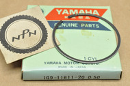 NOS Yamaha 1976-77 YZ100 0.50 Oversize Piston Ring for 1 Piston = 1 Ring 1G9-11611-20