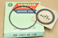 NOS Yamaha 1976-77 YZ100 1.00 Oversize Piston Ring for 1 Piston = 1 Ring 1G9-11611-40
