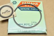 NOS Yamaha 1976 YZ175 0.25 Oversize Piston Ring for 1 Piston = 1 Ring 1L8-11611-10