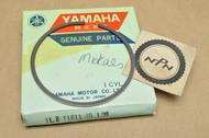 NOS Yamaha 1976 YZ175 1.00 Oversize Piston Ring for 1 Piston = 1 Ring 1L8-11611-40