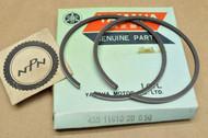 NOS Yamaha 1974-75 MX175 0.50 Oversize Piston Rings for 1 Piston = 2 Rings 455-11610-20