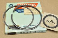 NOS Yamaha 1974-75 MX175 1.00 Oversize Piston Rings for 1 Piston = 2 Rings 455-11610-40