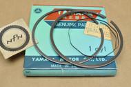 NOS Yamaha 1975-76 DT400 Standard Size Piston Ring Set for 1 Piston= 3 Rings 500-11610-00