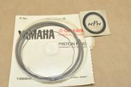 NOS Yamaha 1975-76 DT400 0.75 Oversize Piston Ring Set for 1 Piston= 3 Rings 500-11610-30