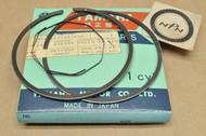NOS Yamaha 1975-76 DT400 1.00 Oversize Piston Ring Set for 1 Piston= 3 Rings 500-11610-40