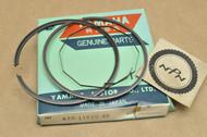 NOS Yamaha 1974-76 DT250 1.00 Oversize Piston Ring Set for 1 Piston = 3 Rings 438-11610-40