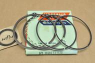 NOS Yamaha 1973-74 TX500 1975 XS500 0.25 Oversize Piston Ring Set for 1 Piston = 5 Rings 371-11610-13