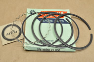 NOS Yamaha 1973-74 TX500 1975 XS500 0.50 Oversize Piston Ring Set for 1 Piston = 5 Rings 371-11610-23