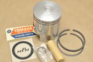 NOS Yamaha 1970-71 HT1 0.25 Oversize Piston Ring Pin Clip Kit 50.25mm 276-11635-00