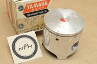 NOS Yamaha 1974-75 MX125 0.75 Oversize Piston 56.75 mm 401-11637-00
