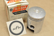 NOS Yamaha 1969 AS2 1968 YAS1 0.50 Oversize Piston 43.50 mm 183-11631-22
