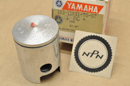 NOS Yamaha 1969 AS2 1968 YAS1 Standard Size Piston 43.00 mm 183-11631-70-97