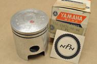 NOS Yamaha 1969-70 L5T 1967 YL2 1968 YLCM Standard Size Piston 166-11631-01-96