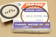 NOS Yamaha 1982-83 YZ100 0.25 Oversize Piston Ring for 1 Piston = 1 Ring 5X3-11611-10