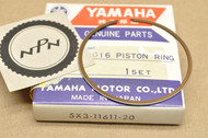 NOS Yamaha 1982-83 YZ100 0.50 Oversize Piston Ring for 1 Piston = 1 Ring 5X3-11611-20