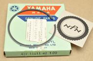 NOS Yamaha 1974-75 MX100 1.00 Oversize Piston Ring for 1 Piston = 1 Ring 427-11611-40