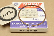 NOS Yamaha 1976-81 YZ100 0.25 Oversize Piston Ring for 1 Piston = 1 Ring 2W5-11611-10