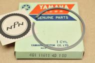 NOS Yamaha 1974-76 MX125 1974-77 YZ125 1.00 Oversize Piston Ring for 1 Piston = 1 Ring 401-11611-40