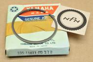 NOS Yamaha 1972-73 LT2 1973 LTMX Standard Size Piston Ring for 1 Piston = 1 Ring 335-11611-00