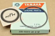 NOS Yamaha 1972-73 LT2 1973 LTMX 0.50 Oversize Piston Ring for 1 Piston = 1 Ring 335-11611-20