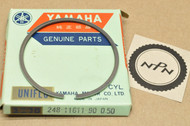 NOS Yamaha AT1 CT1 0.50 Oversize Piston Ring for 1 Piston = 1 Ring 248-11611-90