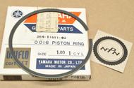 NOS Yamaha 1970-71 RT1 1.00 Oversize Piston Ring for 1 Piston = 1 Ring 284-11611-40
