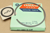 NOS Yamaha 1973-74 MX360 1972 RT2 1974-75 YZ360 0.25 Oversize Piston Ring for 1 Piston = 1 Ring 322-11611-10