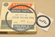 NOS Yamaha 1969-71 DT1 Standard Size Piston Ring for 1 Piston = 1 Ring 285-11611-00