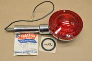 NOS Yamaha 1974 DT250 DT360 Right Rear Red Turn Signal Blinker 438-83340-61-93