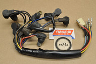 NOS Yamaha 1974 TX650 1975 XS650 Speedometer Tachometer Gauge Socket Cord Harness 447-83509-40