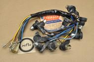 NOS Yamaha 1973-74 TX500 1975 XS500 Speedometer Tachometer Gauge Socket Cord Harness 371-83509-71