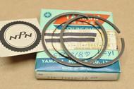 NOS Yamaha 1972 AT2 1973 AT3 0.25 Oversize Piston Ring Set for 1 Piston = 3 Rings 316-11610-10