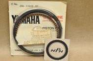 NOS Yamaha TX650 XS1 XS2 XS650 Standard Size Piston Ring Set for 1 Piston = 5 Rings 256-11610-00
