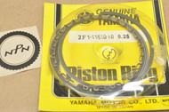 NOS Yamaha 1973-74 TX500 1975-78 XS500 0.25 Oversize Piston Ring Set for 1 Piston = 5 Rings 2F1-11610-10