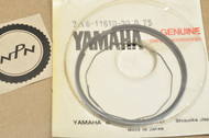 NOS Yamaha 1978-80 DT125 0.75 Oversize Piston Ring Set for 1 Piston = 3 Rings 2A6-11610-30