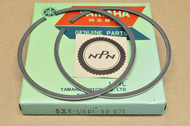 NOS Yamaha IT490 WR500 YZ490 0.75 Oversize Piston Ring Set for 1 Piston = 2 Rings 5X6-11601-30