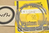 NOS Yamaha 1981 YZ80 0.25 Oversize Piston Ring Set for 1 Piston = 2 Rings 4V1-11601-11