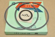 NOS Yamaha IT490 WR500 YZ490 Standard Size Piston Ring Set for 1 Piston = 2 Rings 5X6-11601-00