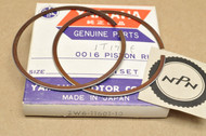 NOS Yamaha 1979-83 IT175 1990-2006 YFS Blaster 0.25 Oversize Piston Ring Set for 1 Piston = 2 Rings 2W6-11601-10