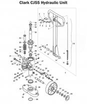 Pallet Jack Parts - Manual Pallet Jack Hydraulic Parts