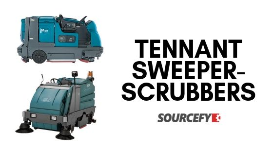 Tennant Sweeper-scrubbers