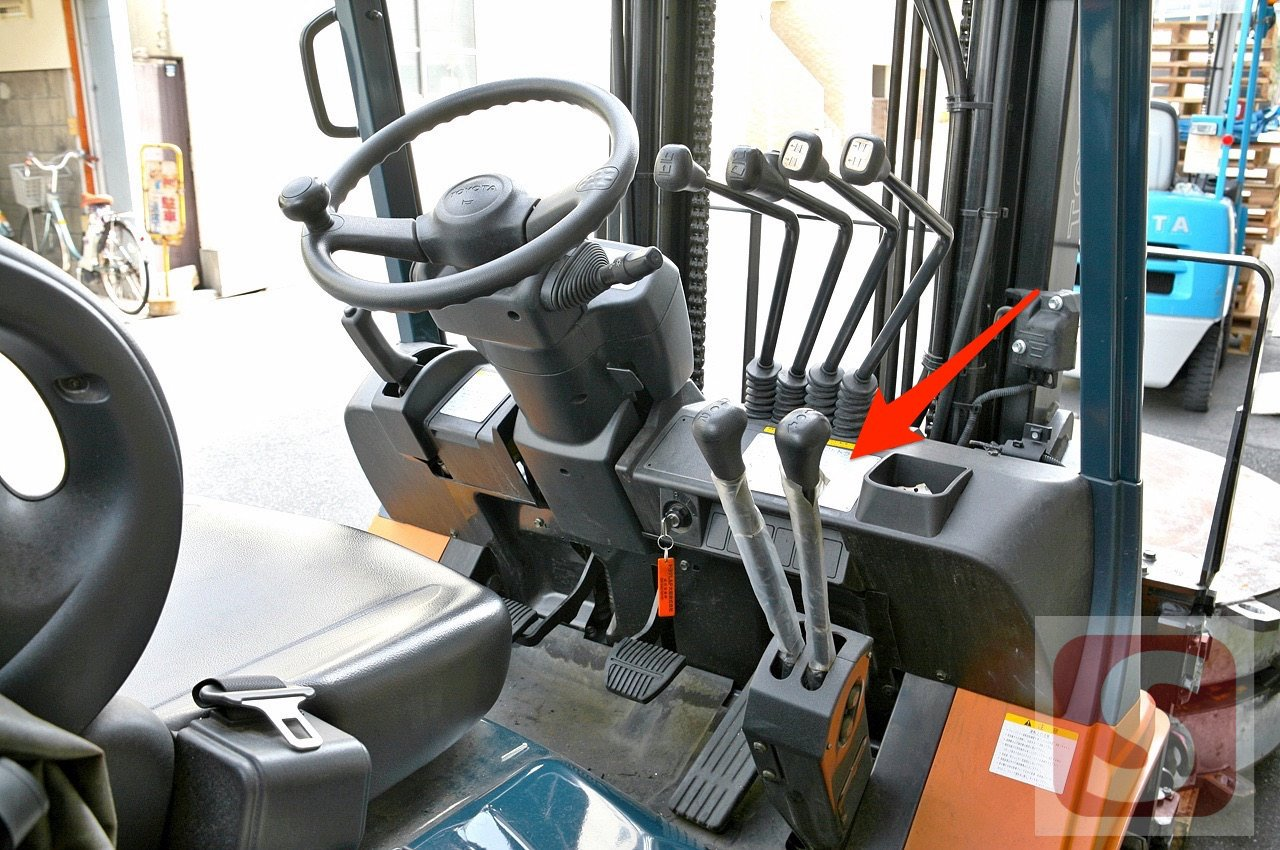 Where to find Toyota Forklift's Serial Number - sourcefy