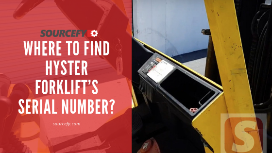 Where To Find Hyster Forklift U2019s Serial Number