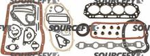GASKET O/H KIT 10101-L1725 for Komatsu & Allis-chalmers, Nissan, TCM